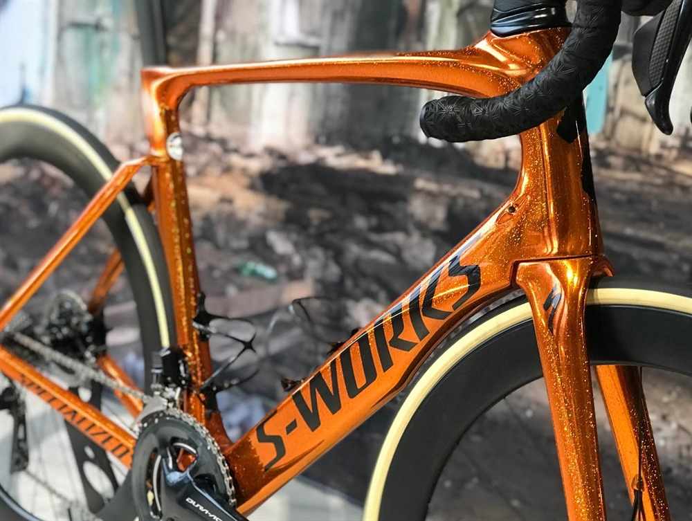 Sworks metallic orange